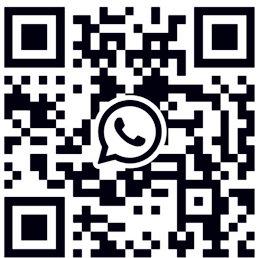 Scan QR code,add my What's App