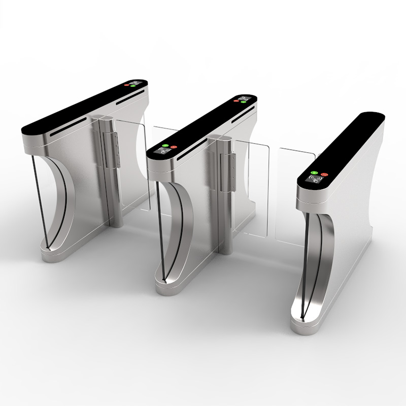 glass security turnstiles