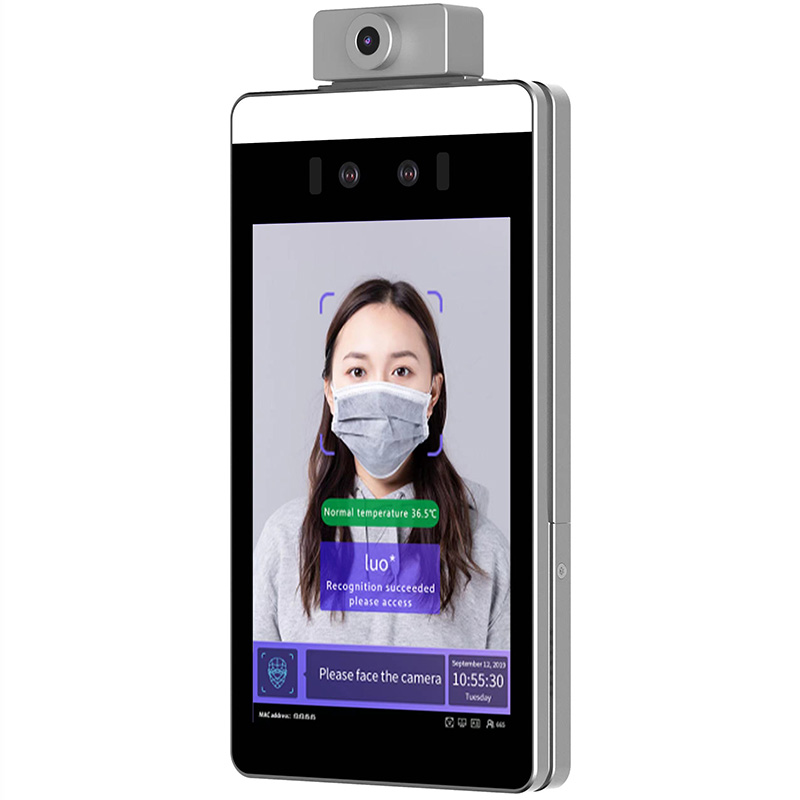 face recognition temperature scanner